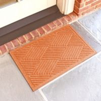 Weather Guard™ Diamonds 18-Inch x 28-Inch Door Mat in Orange
