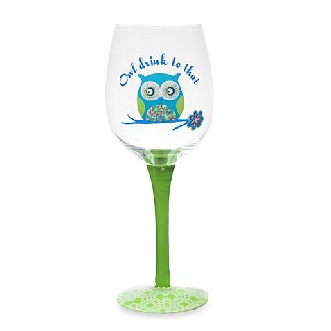 16-Ounce Owl Wine Glass  sc 1 st  Bed Bath \u0026 Beyond & 16-Ounce Owl Wine Glass - Bed Bath \u0026 Beyond