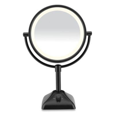 Conair Variable Lighted 1x 10x Mirror In Black