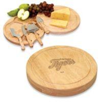 Picnic Time® Engraved MLB Detroit Tigers Circo Cheese Board Set