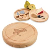 Picnic Time® MLB Detroit Tigers Brie Cheese Board Set
