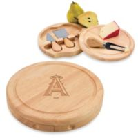 Picnic Time® MLB Los Angeles Angels Brie Cheese Board Set