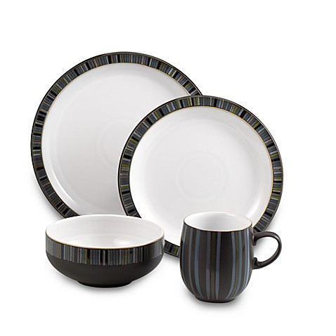 sc 1 st  Bed Bath u0026 Beyond & Denby Jet Stripes Dinnerware - Bed Bath u0026 Beyond