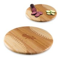 Picnic Time® Homerun! MLB Chicago White Sox Engraved Round Bamboo Cutting Board