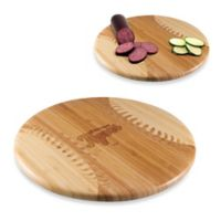 Picnic Time® Homerun! MLB Detroit Tigers Engraved Round Bamboo Cutting Board