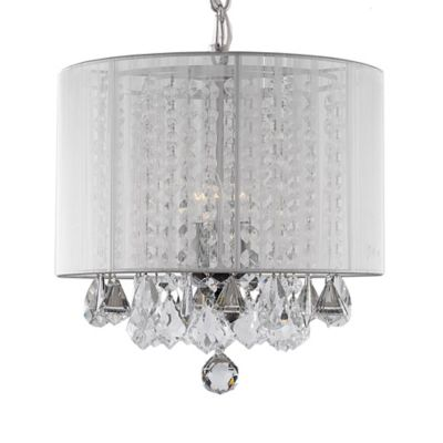 Buy Crystal Chandeliers from Bed Bath Beyond – Crystal Chandelier with Shade