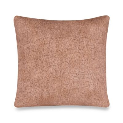 instantly luxe leather pillows trenza that pillow look your sofa make saddle woven product