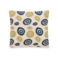 Glenna Jean Uptown Traffic Square Circles Pillow