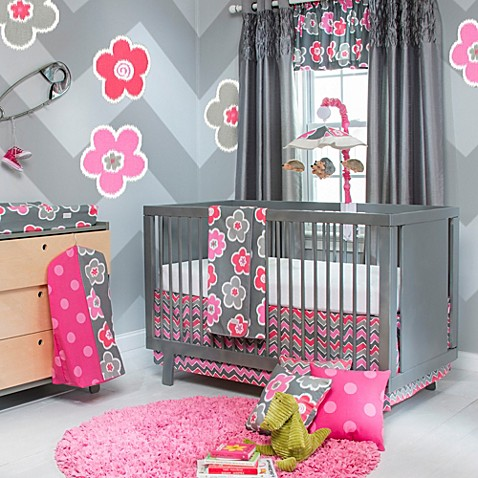 Glenna Jean Viola 3-Piece Crib Bedding Collection