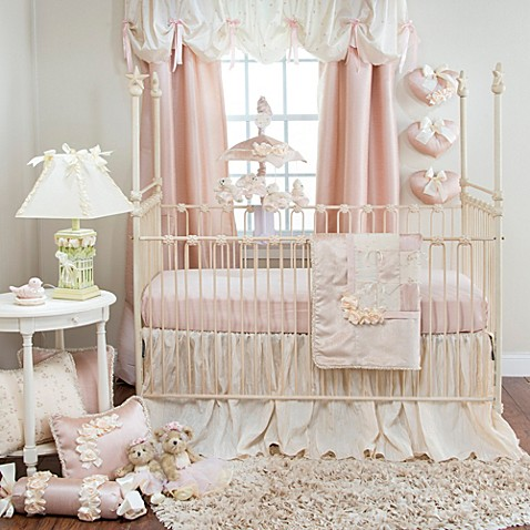 Glenna Jean Ribbons Amp Roses Crib Bedding Collection Bed