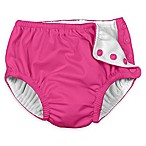 i play.® Ultimate Swim Size 6M Diaper in Hot Pink Solid