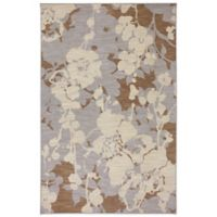 Karastan Crossroads Estelle 5-Foot 3-Inch x 8-Foot 3-Inch Rug in Dove