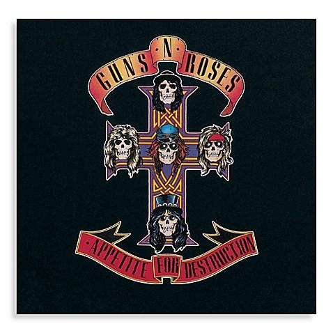 Guns N Roses Appetite For Destruction Vinyl Album Bed