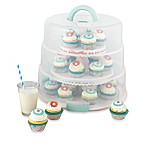 Sweet Creations Collapsible Cupcake & Cake Pop Carrier