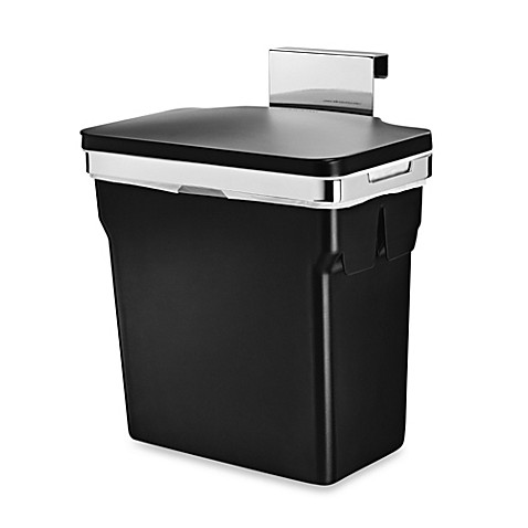 image of simplehuman® 10-Liter In-Cabinet Can