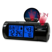 La Crosse Technology Round Projection Alarm Clock