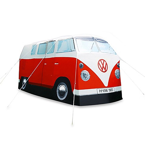 VW® 1965 Camper Van Tent in Red