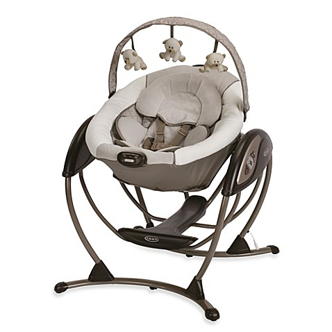 graco glider lx gliding swing in paris buybuy baby. Black Bedroom Furniture Sets. Home Design Ideas
