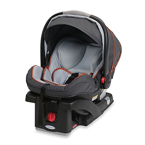 graco snugride click connect 35 lx infant car seat in alloy bed bath beyond. Black Bedroom Furniture Sets. Home Design Ideas