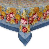 Couleur Nature Tutti Frutti 106-Inch L x 71-Inch W Tablecloth