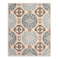 Safavieh Capri 8-Foot x10-Foot Rug in Beige/Blue
