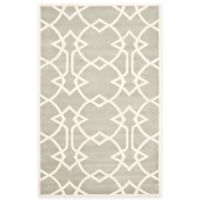 Safavieh Capri 4-Foot x 6-Foot Rug in Grey/Ivory
