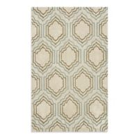 Safavieh Modern Art 5-Foot x 8-Foot Rug in Beige/Multi
