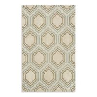 Safavieh Modern Art 8-Foot x 10-Foot Rug in Beige/Multi