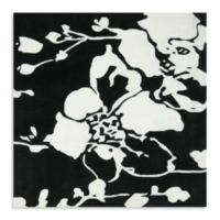 Safavieh Modern Art 7-Foot Rug in Black/Ivory