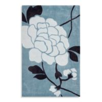Safavieh Modern Art 2-Foot 6-Inch x 4-Foot Rug in Blue/Cream