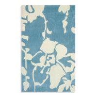 Safavieh Modern Art 8-Foot x 10-Foot Rug in Blue/Ivory