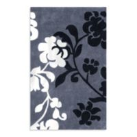 Safavieh Modern Art 2-Foot 6-Inch x 4-Foot Rug in Grey/Black
