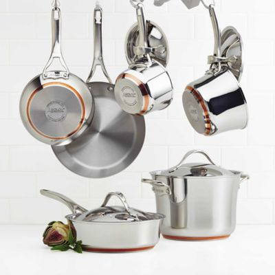 Kitchenaid Pot And Pan Set buy copper cookware sets from bed bath & beyond