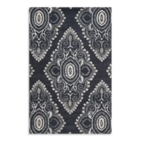 Safavieh Wyndham Amiya 8-Foot x 10-Foot Hand-Tufted Wool Rug in Dark Grey/Ivory