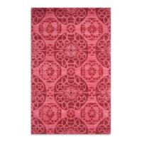 Safavieh Wyndham Irina 4-Foot x 6-Foot Hand-Tufted Wool Accent Rug in Red