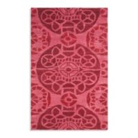 Safavieh Wyndham Irina 2-Foot 6-Inch x 4-Foot Hand-Tufted Wool Accent Rug in Red