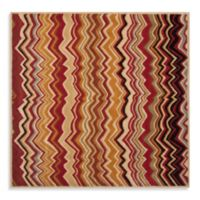Safavieh Wyndham Amber Flame 7-Foot Square Hand-Tufted Wool Rug in Red/Multi
