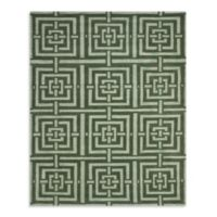 Safavieh Wyndham Euclid Hand-Tufted Wool Rug in Sage Green