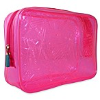 Flight 001 Xray Quart Bag in Pink