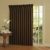 SolarShield® Patio Door Thermal Room Darkening 84-Inch Window Curtain Panel in Espresso