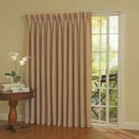 SolarShield® Patio Door Thermal Room Darkening 84-Inch Window Curtain Panel in Wheat