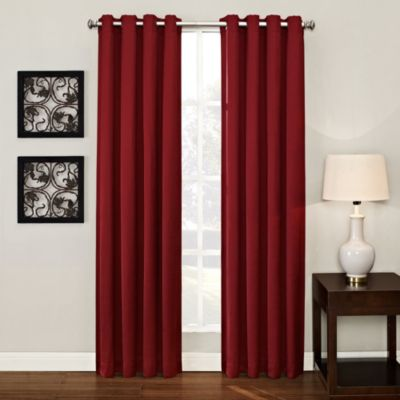 Buy Red Curtains From Bed Bath Beyond
