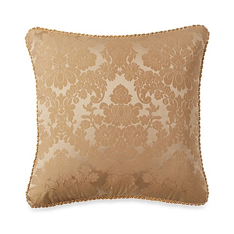 Throw Pillows Matching Curtains : Michael Amini Victoria Square Throw Pillow - Bed Bath & Beyond