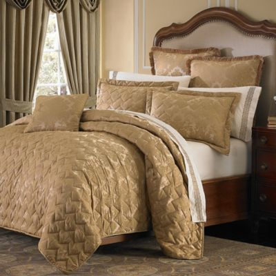 Buy Gold Coverlet From Bed Bath Amp Beyond