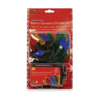 Brite Star Battery Operated 35-Count LED Lights in Multicolor