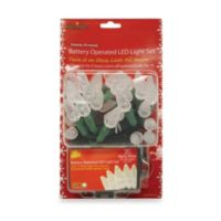 Brite Star Battery Operated 35-Count LED Lights in Warm White