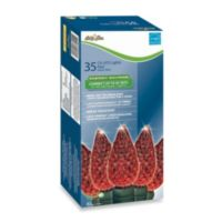 Brite Star 35-Count LED Faceted Lights in Red