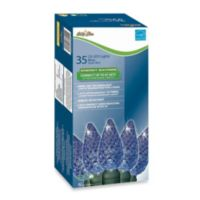 Brite Star 35-Count LED Faceted Lights in Blue