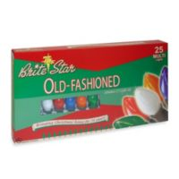 Brite Star 25-Count Old Fashioned Lights in Multicolor