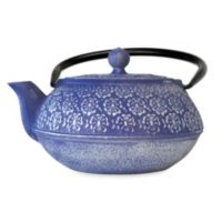 Primula® Floral 40 Oz. Cast Iron Teapot